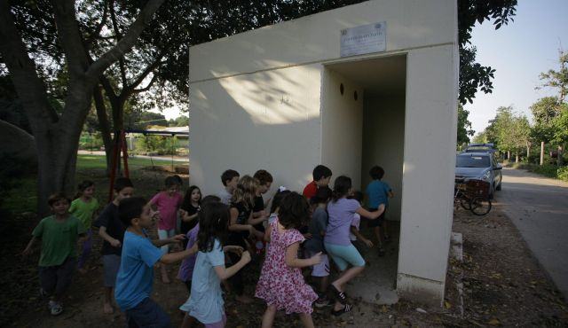 Israel shelters children.jpg