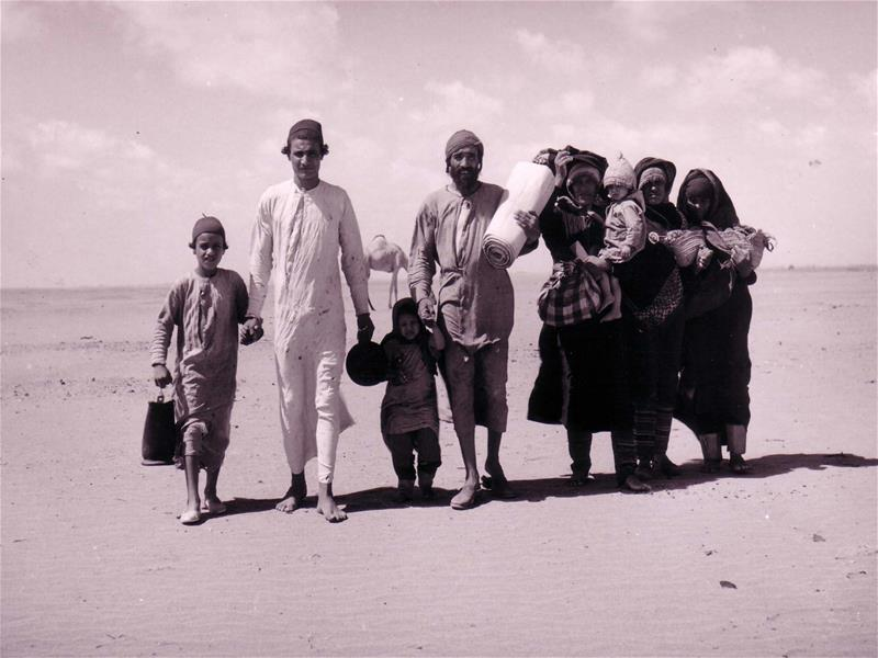 Jewish families making their way to Israel